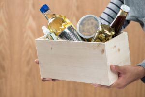 Κουτί με τρόφιμα