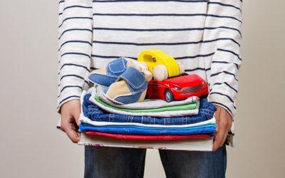 Προσφορά 300 κιλών ρούχων για άπορα παιδιά από τους μαθητές του International School of Piraeus