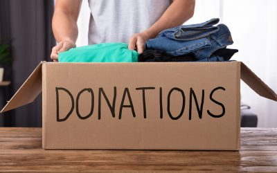 Δωρεά ρούχων, λευκών ειδών και ειδών οικιακής χρήσεως